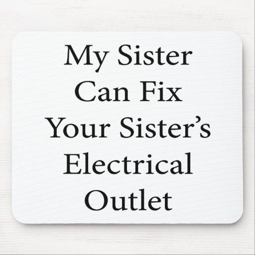 Mi hermana puede fijar el mercado eléctrico de su  tapete de ratones