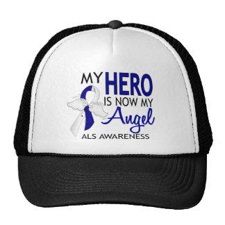 Mi héroe es mi ALS del ángel Gorros Bordados