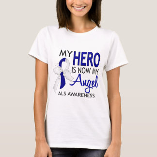 Mi héroe es mi ALS del ángel Playera