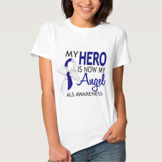 Mi héroe es mi ALS del ángel Remeras