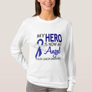 Mi héroe es mi cáncer de colon del ángel playera
