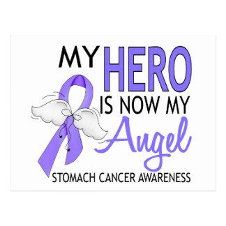 Mi héroe es mi cáncer de estómago del ángel postal