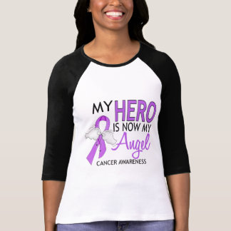 Mi héroe es mi cáncer del ángel remeras