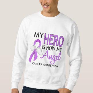 Mi héroe es mi cáncer del ángel sudadera con capucha