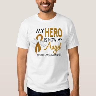 Mi héroe es mi cáncer del apéndice del ángel polera