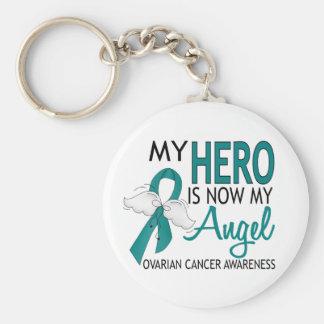 Mi héroe es mi cáncer ovárico del ángel llavero