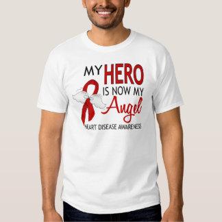 Mi héroe es mi enfermedad cardíaca del ángel polera
