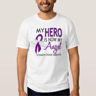 Mi héroe es mi enfermedad de Alzheimer del ángel Playeras