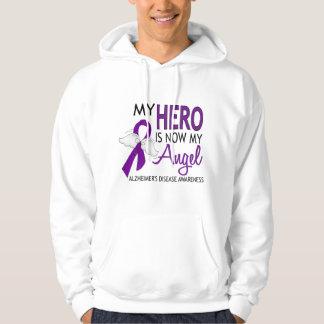 Mi héroe es mi enfermedad de Alzheimer del ángel Sudadera Con Capucha