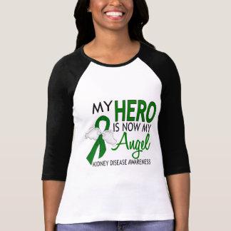 Mi héroe es mi enfermedad de riñón del ángel camisetas