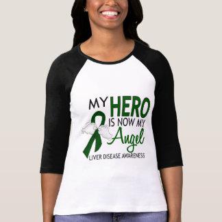 Mi héroe es mi enfermedad del higado del ángel playera