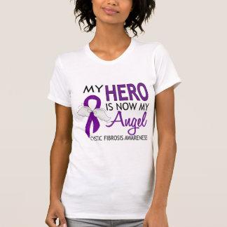 Mi héroe es mi fibrosis quística del ángel camiseta