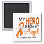 Mi héroe es mi leucemia del ángel iman de frigorífico