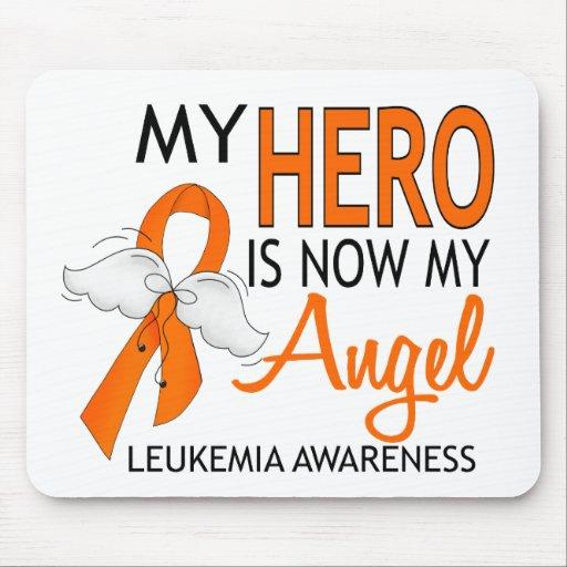 Mi héroe es mi leucemia del ángel tapetes de raton