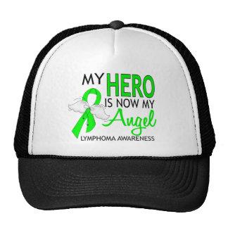 Mi héroe es mi linfoma del ángel gorros bordados