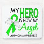 Mi héroe es mi linfoma del ángel alfombrilla de raton