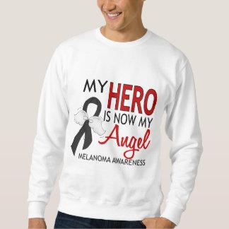 Mi héroe es mi melanoma del ángel sudadera