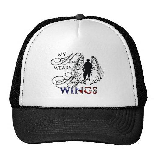 Mi héroe lleva las alas del ángel gorra