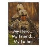 Mi héroe… mi amigo… mi padre felicitacion