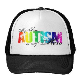 Mi héroe mi hijo - autismo gorro de camionero