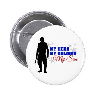 Mi héroe mi soldado mi hijo pin