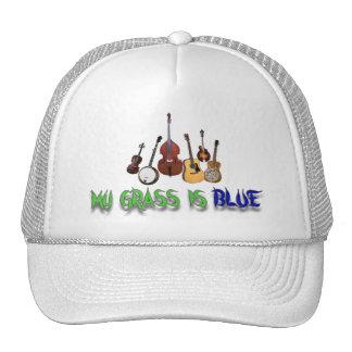 MI HIERBA ES BLUE-HAT GORRAS