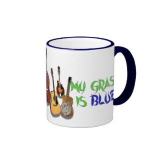 MI HIERBA ES BLUE-MUG TAZA DE CAFÉ
