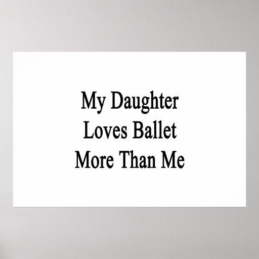 Mi hija ama ballet más que mí poster