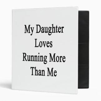 Mi hija ama el correr más que mí