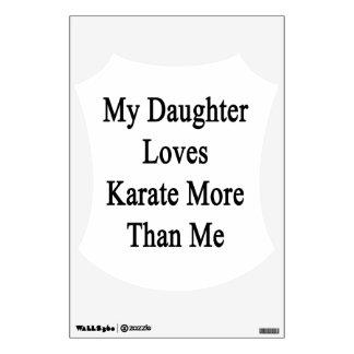 Mi hija ama karate más que mí