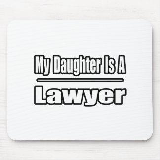 Mi hija es abogado tapetes de raton