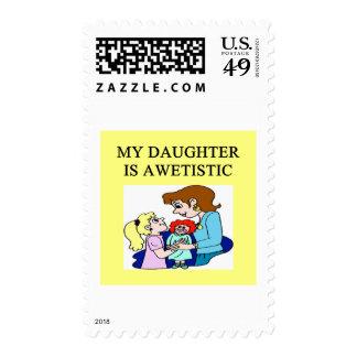 mi hija es autística sello