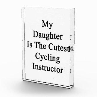 Mi hija es el instructor de ciclo más lindo