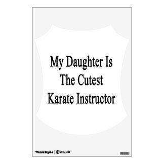 Mi hija es el instructor más lindo del karate