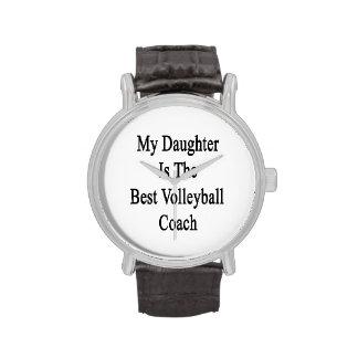 Mi hija es el mejor coche del voleibol reloj