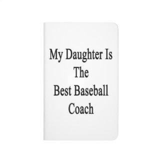 Mi hija es el mejor entrenador de béisbol