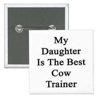 Mi hija es el mejor instructor de la vaca