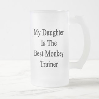 Mi hija es el mejor instructor del mono taza de café