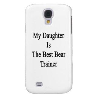 Mi hija es el mejor instructor del oso