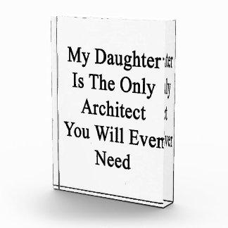 Mi hija es el único arquitecto que usted nunca Ne