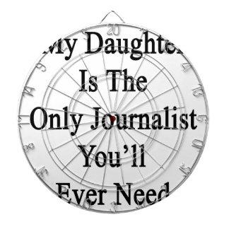 Mi hija es el único periodista que usted siempre N Tablero Dardos