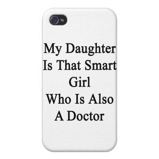 Mi hija es ese chica elegante que es también un Do iPhone 4/4S Funda