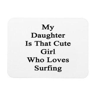 Mi hija es ese chica lindo que ama el practicar su imanes