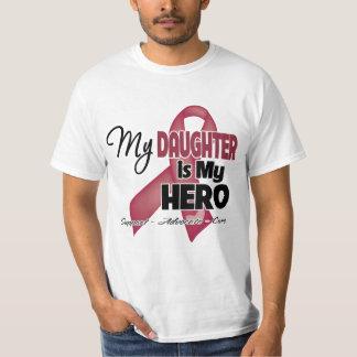 Mi hija es mi héroe - mieloma múltiple playera