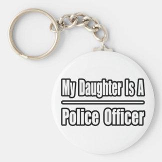 Mi hija es oficial de policía llavero