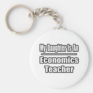 Mi hija es profesor de la economía llaveros