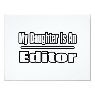 """Mi hija es redactor invitación 4.25"""" x 5.5"""""""