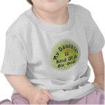 Mi hija es un poco una gran cosa camisetas