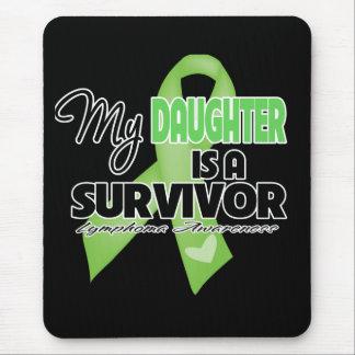 Mi hija es un superviviente - linfoma mouse pads