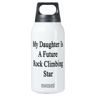 Mi hija es una estrella futura de la escalada